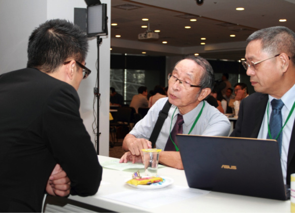 2017/9/7 Participated in Business Match Maker held by Taiwan Institute of Economic Research
