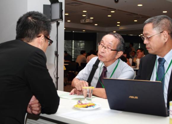 2017/9/7獲選參加中小企業處與台灣經濟研究院舉辦的2017國際天使與創業投資峰會「閃約媒合會」。